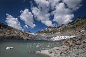 Sông băng ở Thụy Sĩ tan nhanh chưa từng thấy