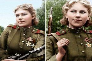 Cuộc đời nữ xạ thủ gieo rắc nỗi khiếp sợ cho phát xít Đức