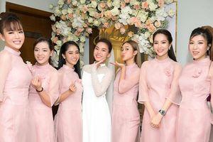 Dàn phù dâu xinh đẹp trong lễ vu quy của Giang Hồng Ngọc