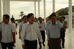 Phó Thủ tướng thăm ngôi trường Trung Nam group xây tặng học sinh nghèo