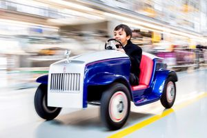 Đây là chiếc Rolls-Royce nhỏ nhất từng được sản xuất