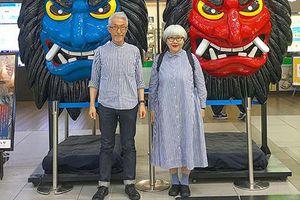Cặp vợ chồng già Nhật Bản diện đồ đôi suốt 38 năm khiến dân mạng 'phát cuồng'