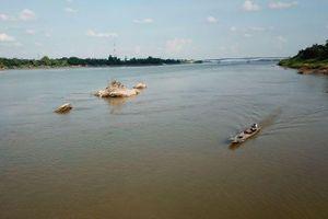 Nước sông Mê Công ở mức thấp báo động