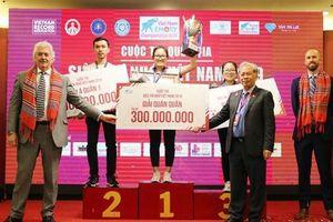 Đặng Ngọc Phương Trinh giành quán quân cuộc thi siêu trí nhớ Việt Nam năm 2019