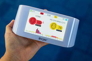 Trải nghiệm máy đo không khí Airvisual Pro, giá 7,6 triệu đồng