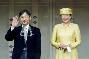 Nhật Hoàng Naruhito đăng quang trước gần 2.000 quan khách