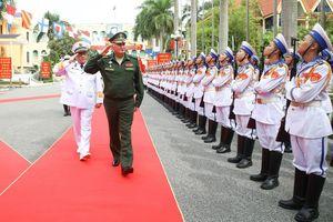 Tư lệnh Hải quân Việt Nam muốn hợp tác chặt chẽ với Hải quân Nga