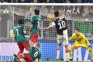 Juventus 2-1 Lokomotiv Moscow: Dybala tỏa sáng thay Ronaldo, Juve may mắn có 3 điểm