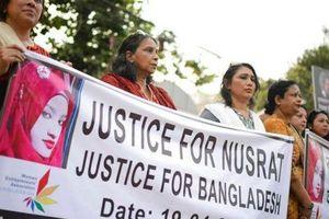 Bangladesh kết án tử 16 đối tượng thiêu sống nữ sinh