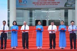 TP Hồ Chí Minh: Khánh thành Nhà Văn hóa Sinh viên