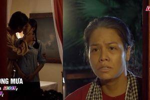 'Tiếng sét trong mưa' tập 46: Thị Bình chết đứng nhìn hai anh em ruột hôn nhau