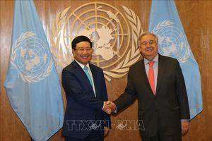 Nhân Ngày Liên hợp quốc 24/10: Sát cánh cùng Việt Nam vì mục tiêu phát triển bền vững