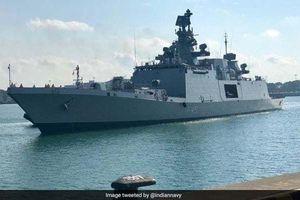 Tàu hải quân INS SAHYADRI Ấn Độ sắp thăm cảng Tiên Sa, Đà Nẵng