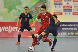 Việt Nam bại trận trước Thái Lan ở bán kết AFF Futsal Championship