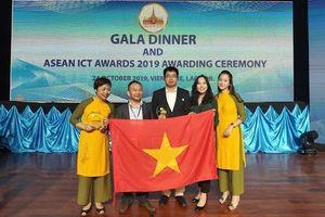 ASEAN ICT AWARDS 2019: Việt Nam giành giải Bạc ở hạng mục Nội dung số