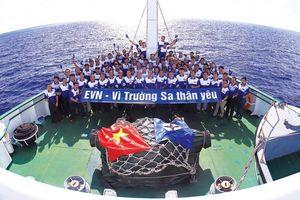 EVN có thành tích xuất sắc trong công tác phối hợp tuyên truyền biển, đảo
