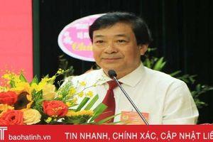 Ông Trần Sỹ Thu tái cử Chủ tịch Công đoàn Agribank Hà Tĩnh II