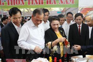 Hơn 20 tỉnh, thành tham dự Hội chợ làng nghề và sản phẩm OCOP Việt Nam