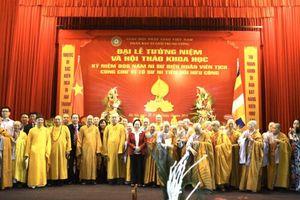 Phó Chủ tịch Ngô Sách Thực dự Đại lễ tưởng niệm 906 năm Ni sư Diệu Nhân viên tịch