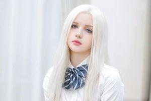3 cô gái tóc bạch kim nổi tiếng trên mạng nhờ ngoại hình khác biệt