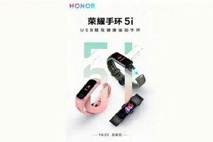 Honor Band 5I mới sẽ được trang bị cảm biến SPO2