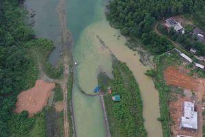 Nước thải Nhà máy nước sông Đà quay lại hồ Đầm Bài