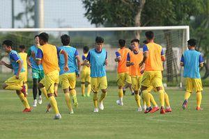 Tuyển U19 Việt Nam tập huấn tại Tây Ninh