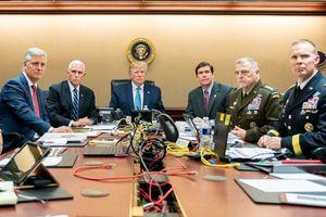 Tấm ảnh Tổng thống Trump cùng các tướng lĩnh xem trực tiếp vụ đột kích thủ lĩnh IS là giả?