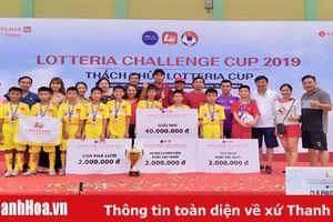 Thanh Hóa giành vị trí á quân giải bóng đá thiếu nhi toàn quốc 'Thách thức Lotteria Cup 2019'