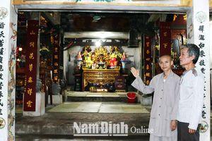 Nam Định: Độc đáo di tích thờ nhị vị công chúa thời Trần