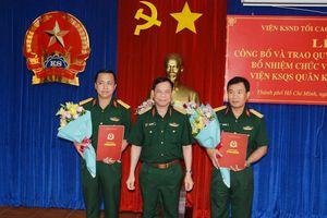 Bổ nhiệm nhân sự Kiểm sát quân sự Quân khu 7