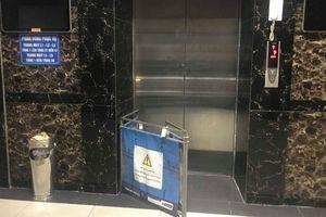 Kẹt thang máy chung cư HH Linh Đàm, nhiều người hoảng sợ