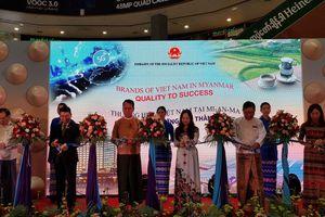 Khai mạc Triển lãm Thương hiệu Việt Nam tại Myanmar