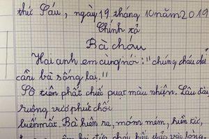 Hiệu trưởng phủ nhận học sinh lớp 2 nhưng không biết đọc – viết