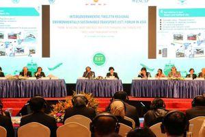 Châu Á đồng thuận phát triển giao thông xanh, giảm khí thải