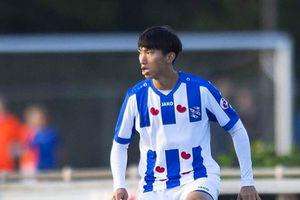 Vì sao Văn Hậu phải đợi đến đầu năm 2020 mới được thi đấu ở Heerenveen?