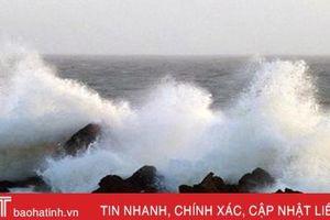 Hà Tĩnh mưa diện rộng, sóng biển vùng Vũng Áng - Sơn Dương cao đến 3m