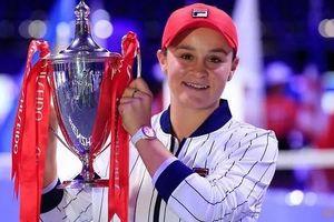 Barty khép lại một năm tuyệt vời với chức vô địch giải quần vợt WTA Finals