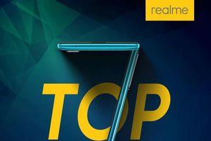 Realme trở thành nhà sản xuất smartphone lớn thứ 7 thế giới