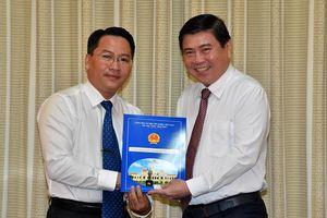 PGS.TS Nguyễn Tấn Phát làm Giám đốc Học viện Cán bộ TPHCM