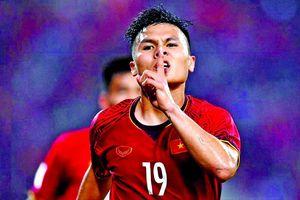 Cầu thủ xuất sắc nhất Ðông Nam Á: Quang Hải là ứng viên số một