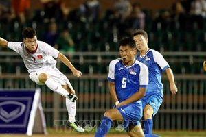Vòng loại U19 vô địch châu Á 2020: U19 Việt Nam thắng 3-0 trước U19 Mông Cổ