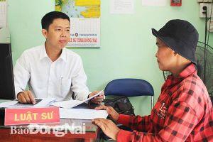 Địa chỉ hỗ trợ, tư vấn pháp luật tin cậy của người dân TP.Biên Hòa