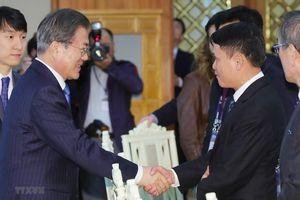Tổng thống Hàn Quốc Moon Jae-in ca ngợi quan hệ Việt Nam-Hàn Quốc