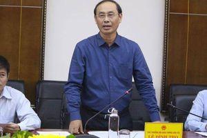 Thứ trưởng Lê Đình Thọ: Cần có giải pháp phòng chống thiên tai phù hợp