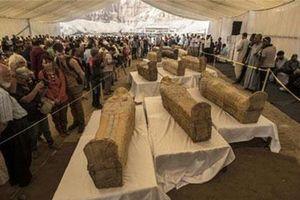 Ai Cập khai quật 30 quan tài chứa xác ướp 3.000 năm tuổi
