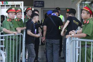Thắt chặt an ninh, đảm bảo an toàn cho hai trận đấu của ĐT Việt Nam