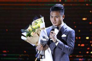 Quang Hải giành giải thưởng cầu thủ nam hay nhất Đông Nam Á