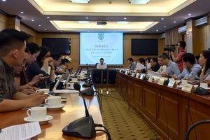 Bộ Tư pháp họp báo công tác tư pháp Quý III và tháng 10-2019