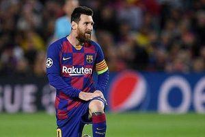 Messi lập cú hattrik, bàn thắng còn lại thuộc về Busquets